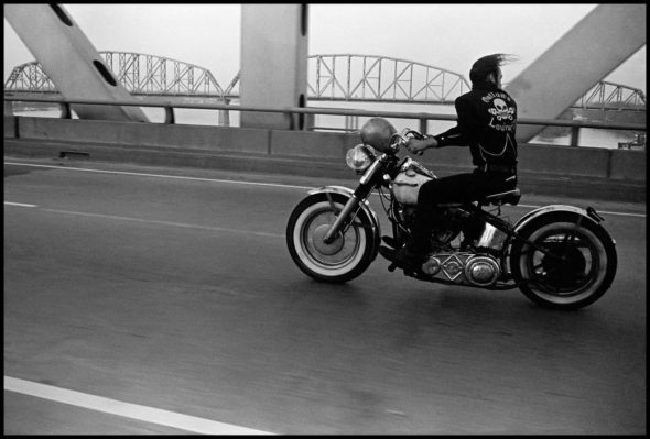 USA. Louisville, Kentucky. 1966. Crossing the Ohio.